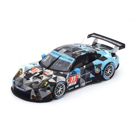 Porsche 911 RSR 77 24 Heures du Mans 2015 Spark 18S196