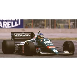 Benetton BMW B196 Detroit 1986 Gerhard Berger Minichamps 100860020