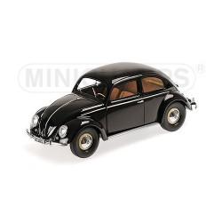 Volkswagen 1200 Cabriolet 1949 Noire Minichamps 107054001