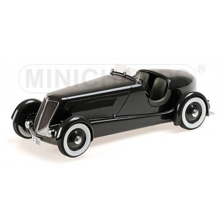 Ford Edsel Model 40 Special Roadster 1934 Noire Minichamps 107082040