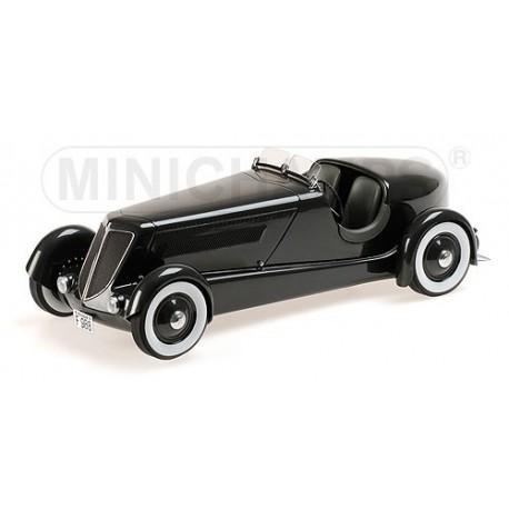 Ford Edsel Model 40 Special Roadster 1934 Noire Minichamps 107082040