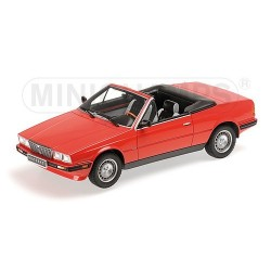 Maserati Biturbo Spyder 1986 Rouge Minichamps 107123530