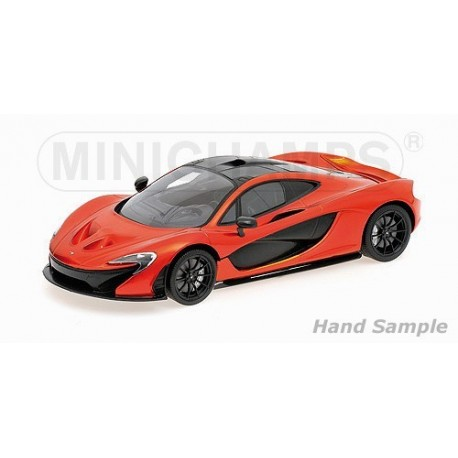 McLaren P1 2012 Orange Minichamps 107133300