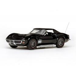 Corvette Coupe 1968 Noire Vitesse VI36245