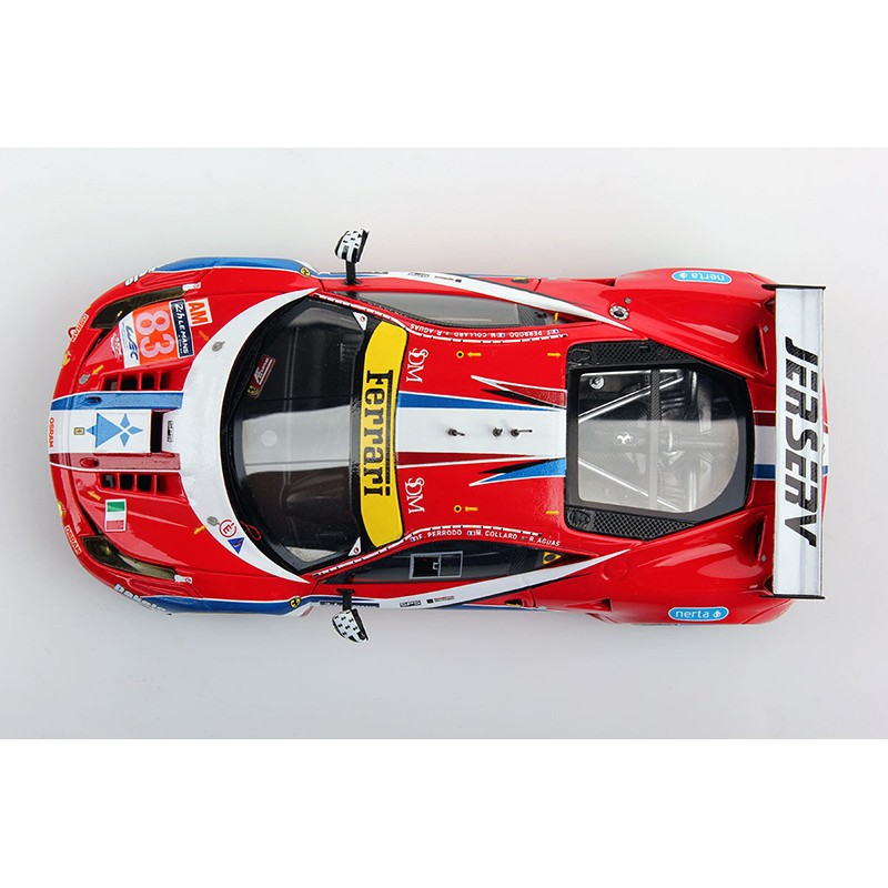 ferrari 458 italia 83 24 heures du mans 2016 looksmart lslm039 miniatures minichamps. Black Bedroom Furniture Sets. Home Design Ideas