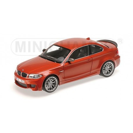 BMW 1er M Coupé 2011 Orange Valencia Minichamps 110020020