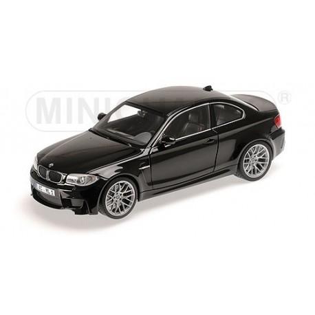 BMW 1er M Coupé 2011 Noire Sapphire Minichamps 110020021