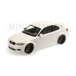 BMW 1er M Coupé 2011 Alpine White Minichamps 110020022
