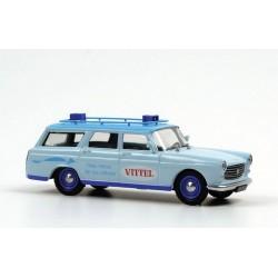 Peugeot 404 Vittel Bleue Eligor E101251