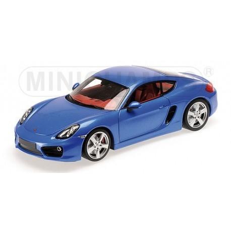 Porsche Cayman 2012 Bleue Minichamps 110062221