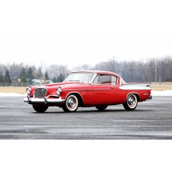 Studebaker Gold Hawk Rouge 1957 Sunstar SUN6153