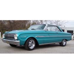 Ford Falcon Hardtop Bleue 1963 Sunstar SUN4543