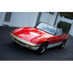 Lotus Elan Sprint Rouge 1971 Sunstar SUN4083