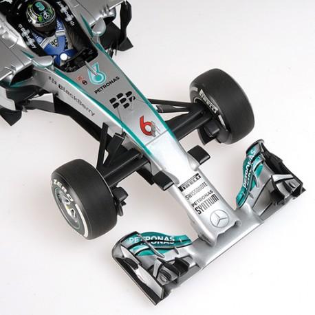 Mercedes F1 W05 F1 2014 Nico Rosberg Minichamps 110140006