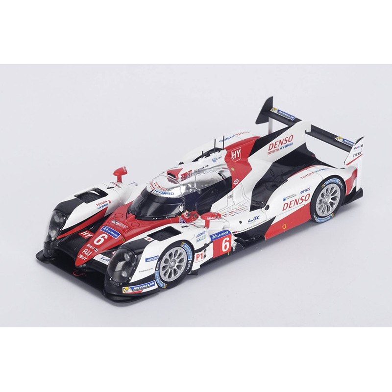 toyota ts050 hybrid 6 24 heures du mans 2016 spark s5103 miniatures minichamps. Black Bedroom Furniture Sets. Home Design Ideas