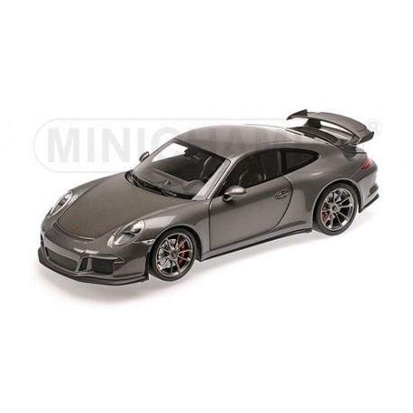 Porsche 911 GT3 Type 991 2013 Grise Minichamps 110062720