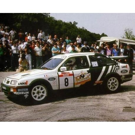 Ford Sierra Cosworth 8 WRC Tour de Corse 1988 Auriol Occelli Trofeu T0110