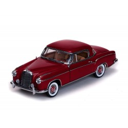 Mercedes 220 SE Rouge 1958 Sunstar SUN3563