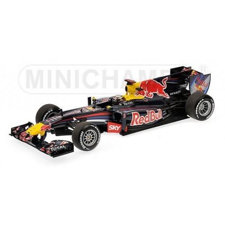 Red Bull Renault RB6 F1 Brésil 2010 Sebastian Vettel Minichamps 110100205