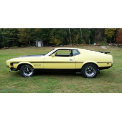 Ford Mustang Mach I Jaune Claire 1971 Sunstar SUN3635