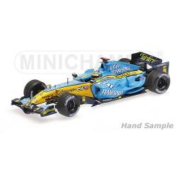 Renault R26 F1 Japon 2006 Fernando Alonso Minichamps 435060001
