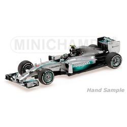 Mercedes F1 W05 F1 Monaco 2014 Nico Rosberg Minichamps 435140506
