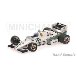 Williams Ford FW08C F1 Monaco 1983 Keke Rosberg Minichamps 435830001