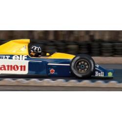 Williams Renault FW13B F1 Silverstone Testing 1991 Damon Hill Minichamps 437910000