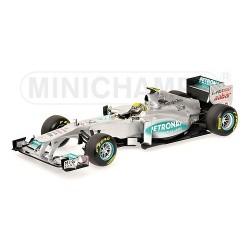 Mercedes GP Petronas MGP W02 F1 2011 Nico Rosberg Minichamps 110110008