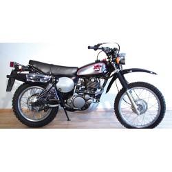 Yamaha XT 500 1988 Noire Minichamps 122163305