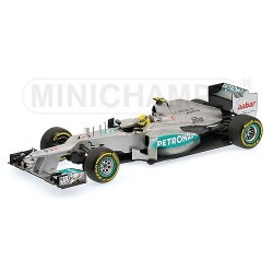 Mercedes GP W03 F1 2012 Nico Rosberg Minichamps 110120008