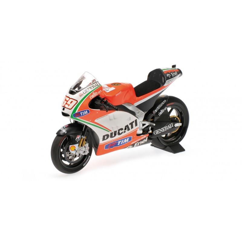 Ducati Desmosedici GP12 Moto GP 2012 Nicky Hayden Minichamps 122120069 - Miniatures Minichamps