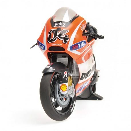 Ducati Desmosedici GP13 Moto GP 2013 Andrea Dovizioso Minichamps 122130004