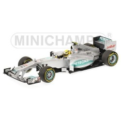 Mercedes AMG F1 Team Showcar 2012 Nico Rosberg Minichamps 110120078