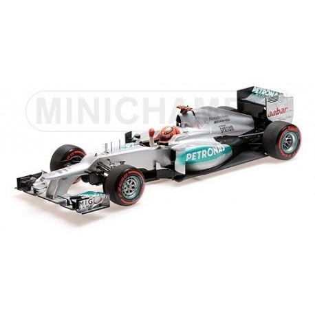 Mercedes GP W03 Pole Position Monaco 2012 Michael Schumacher Minichamps 110120107