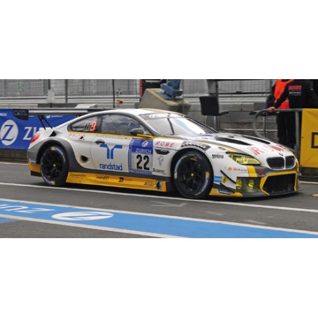BMW M6 GT3 22 24 Heures du Nurburgring 2016 Minichamps 155162622