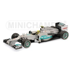 Mercedes GP W03 Winner Chine 2012 Nico Rosberg Minichamps 110120108