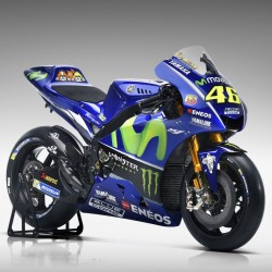 Yamaha YZR M1 46 Valentino Rossi Moto GP 2017 Spark M43036