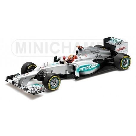 Mercedes GP W03 3rd Valence 2012 Michael Schumacher Minichamps 110120207
