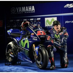 Yamaha YZR M1 25 Maverick Vinales Moto GP Qatar 2017 Spark M43035