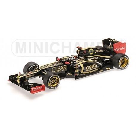 Lotus Renault E20 F1 Abu Dhabi 2012 Kimi Raikkonen Minichamps 110120209