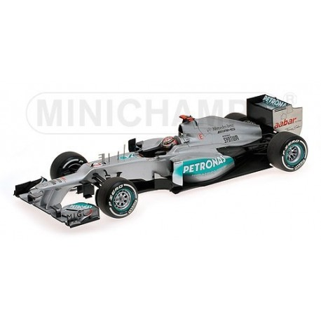 Mercedes GP W03 300 GP Belgique 2012 Michael Schumacher Minichamps 110120307