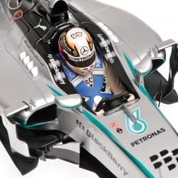 Mercedes F1 W05 F1 Malaisie 2014 Lewis Hamilton Minichamps 110140144
