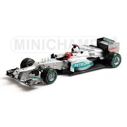 Mercedes GP W03 Brésil 2012 Last Race Michael Schumacher Minichamps 110120407
