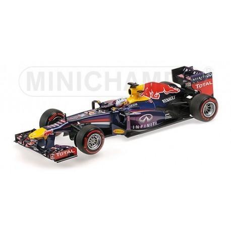 Red Bull Renault RB9 F1 Brésil 2013 Sebastian Vettel Minichamps 110130101