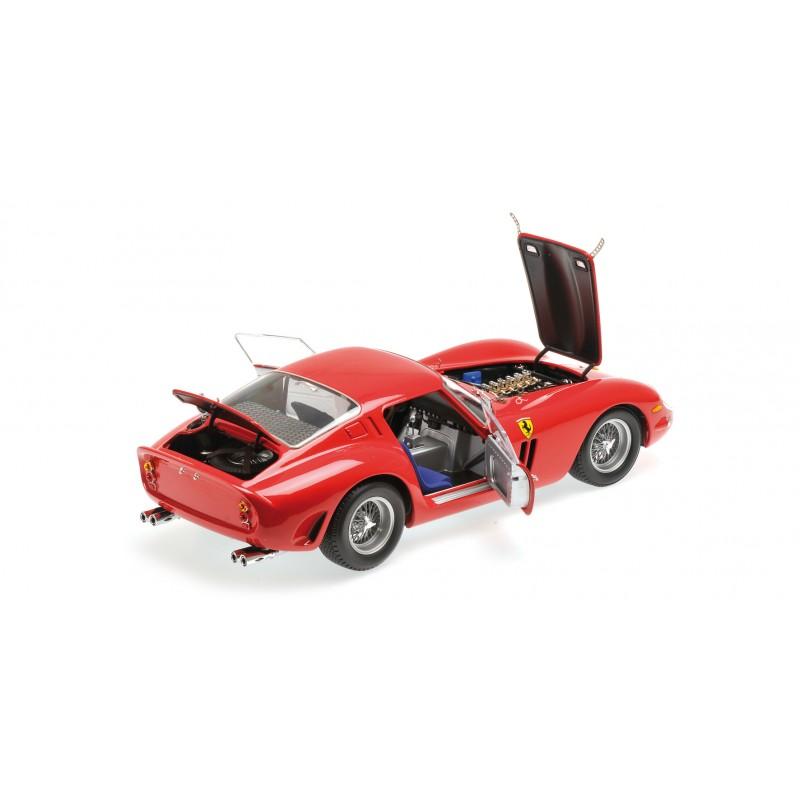 Ferrari Gto 1962: Ferrari 250 GTO 1962 Rouge Kyosho 8437R