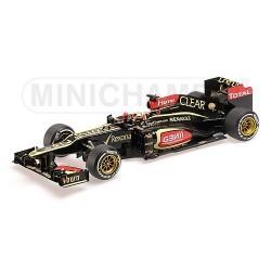 Lotus Renault E21 F1 Australie 2013 Kimi Raikkonen Minichamps 110130107