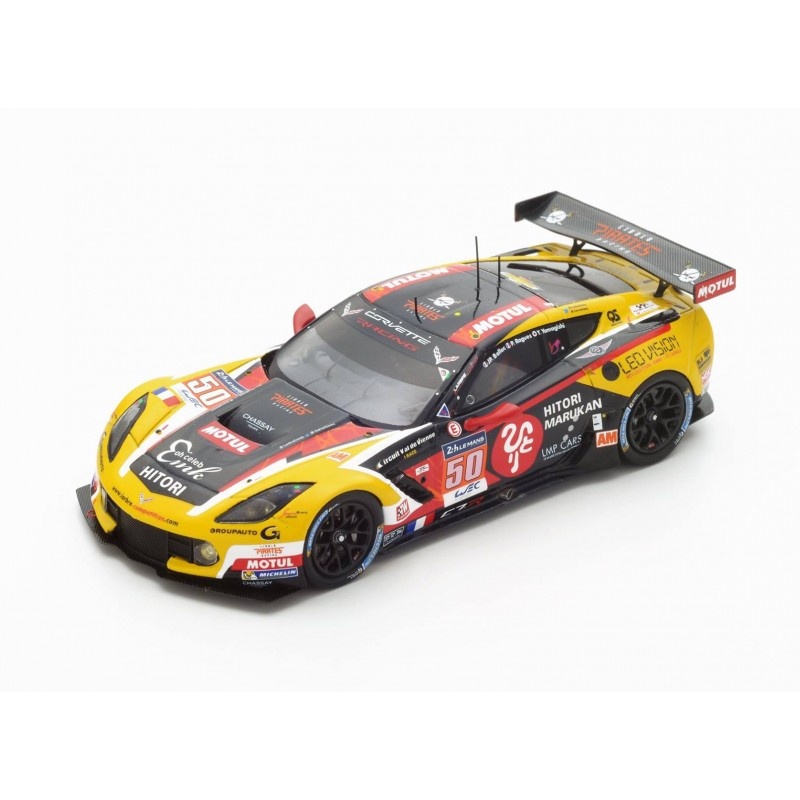 chevrolet corvette c7 z06 50 24 heures du mans 2016 spark s5138 miniatures minichamps. Black Bedroom Furniture Sets. Home Design Ideas