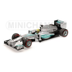 Mercedes W04 F1 Monaco 2013 Nico Rosberg Minichamps 110130109