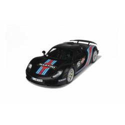 Porsche 918 Spyder Weissach Package 2012 Noire GT Spirit ZM084 1/12